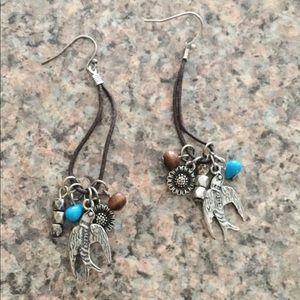 Boho Dove Earrings
